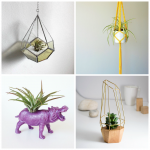 cache pot suspension pour plantes