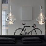 luminaire en verre suspension