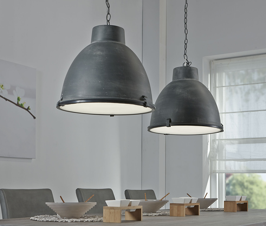 luminaire suspension industriel