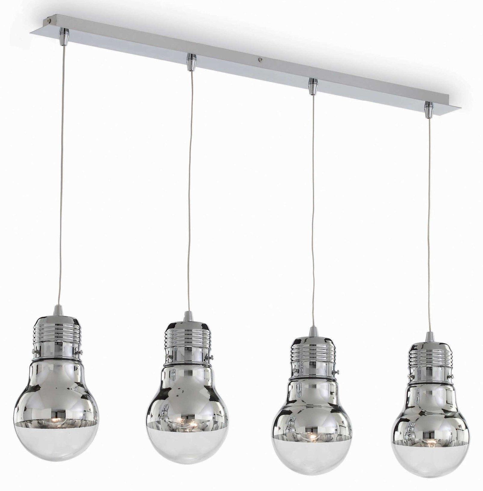 suspension 4 lampes