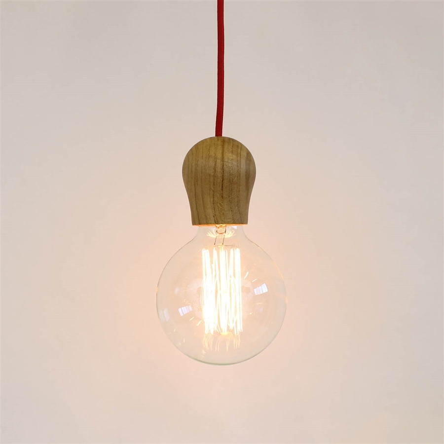 Elegant suspension ampoule design with ikea suspension papier for Suspension luminaire papier