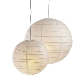 suspension boule chinoise