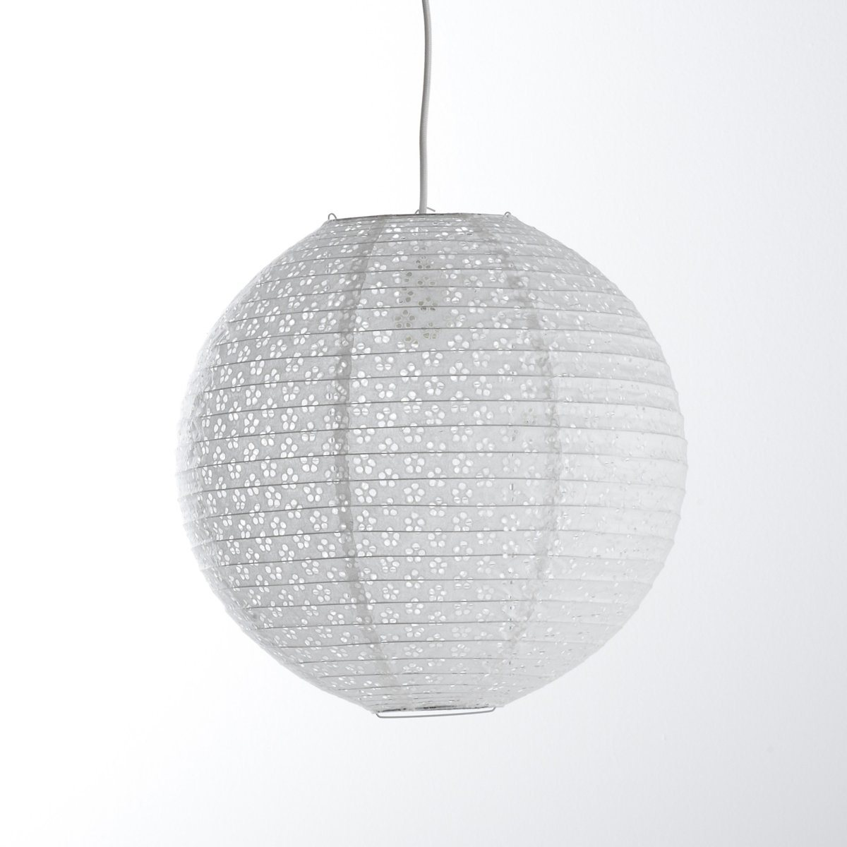 Lustre boule papier gallery of gamme de boules en papier for Suspension boule