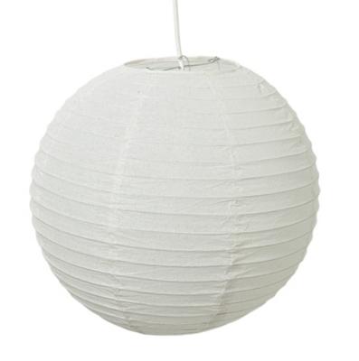 Lustre boule en papier simple fabulous suspension papier for Lustre boule papier