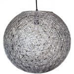 suspension boule sisal