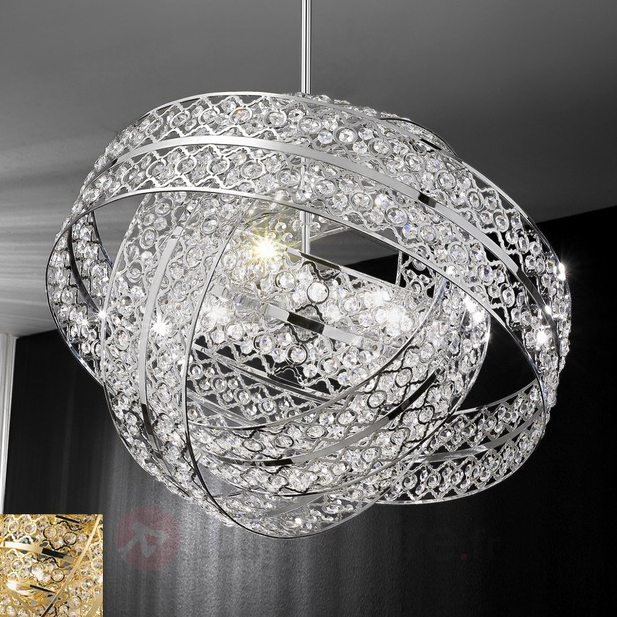 suspension cristal