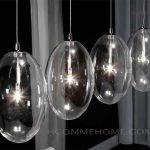 suspension design en verre