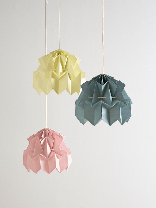 suspension en origami