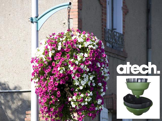 suspension florale exterieure