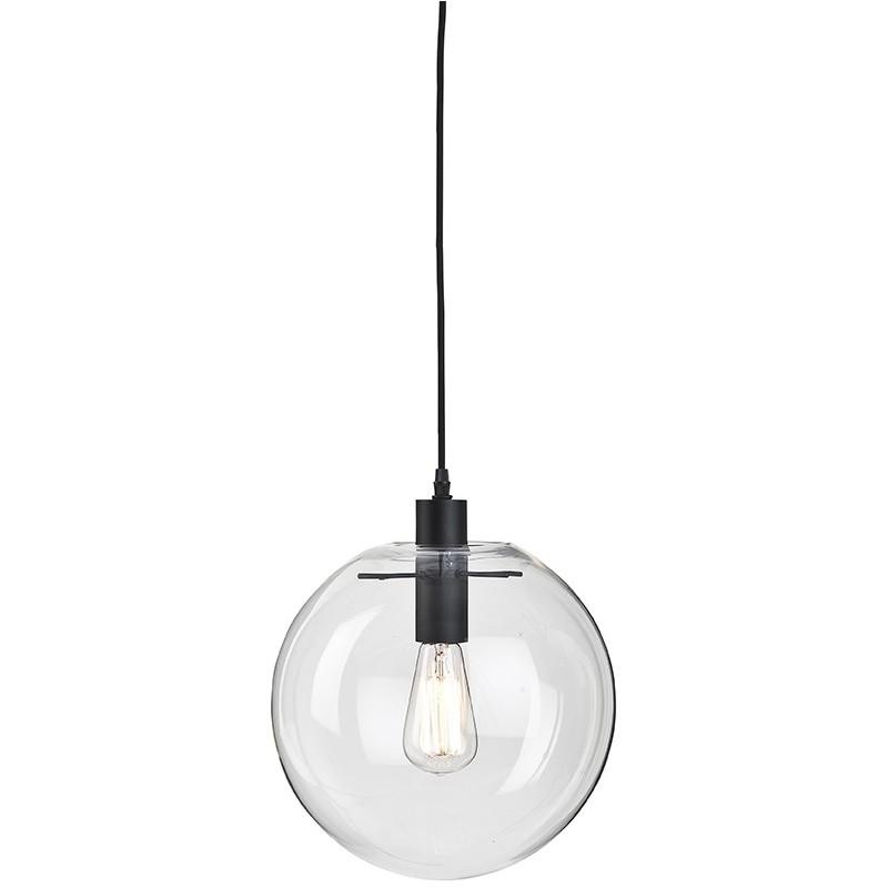 suspension globe verre