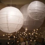 suspension luminaire boule japonaise