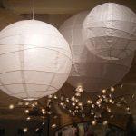 suspension luminaire boule japonaise