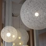 suspension luminaire nature