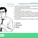 suspension meaning