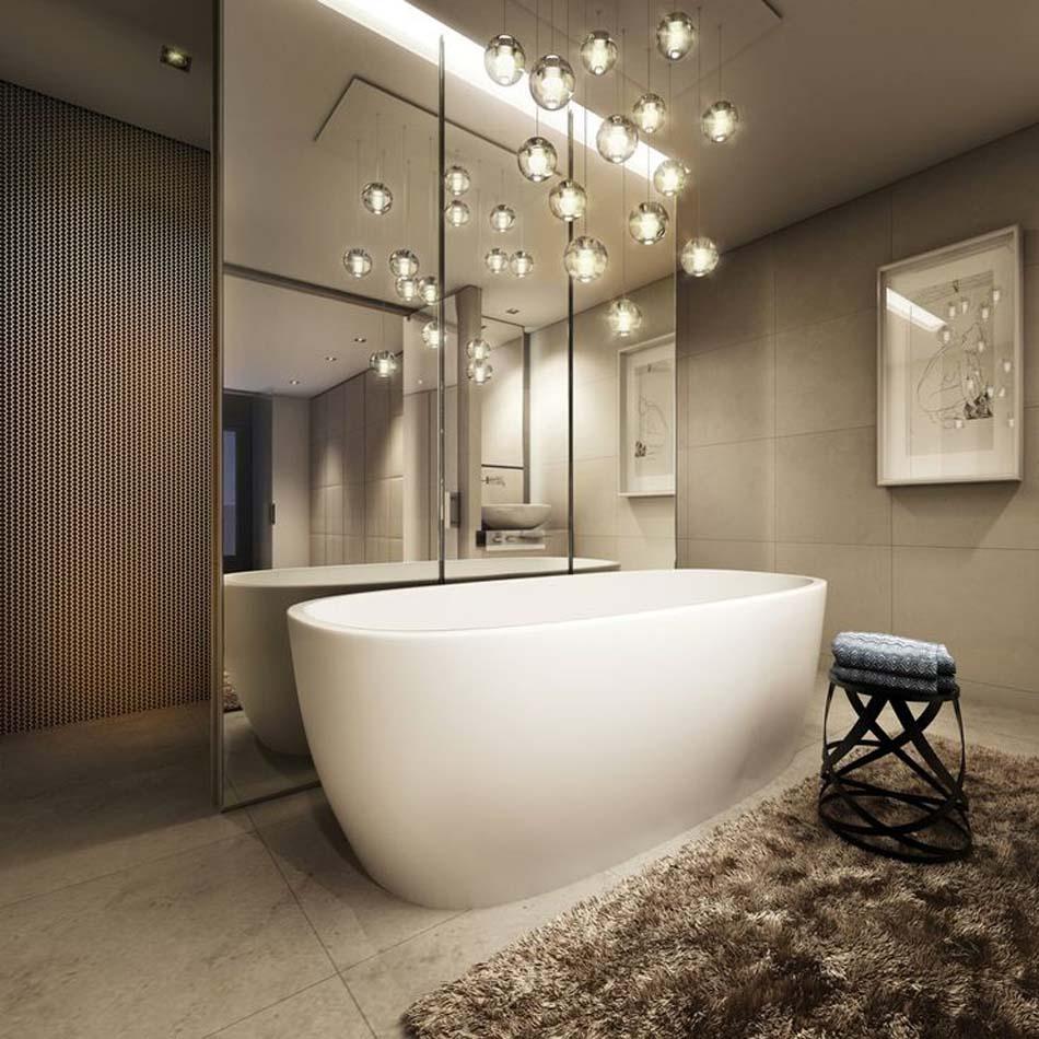 suspension pour salle de bain
