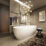 suspension salle de bain design
