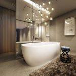 suspension salle de bain design